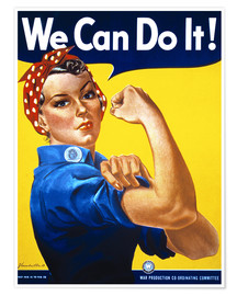 Poster  We Can Do It - Advertising Collection