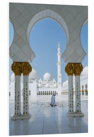 Tableau en PVC  Sheik Zayed Grand Mosque, Adu Dhabi, Emirates - Matteo Colombo