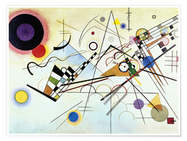 Poster  Composition VIII - Wassily Kandinsky