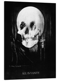 Tableau en aluminium  All is Vanity - Charles Allan Gilbert