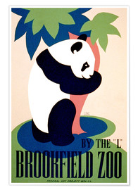 Poster  Brookfield Zoo - Advertising Collection