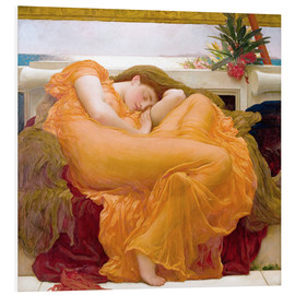 Tableau en PVC  June flamboyante - Frederic Leighton