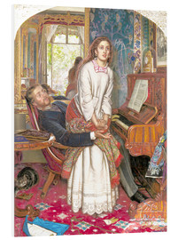 Tableau en PVC  The Awakening Conscience - William Holman Hunt
