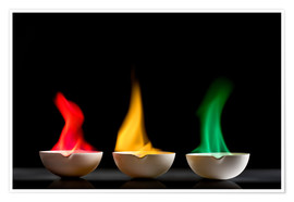 Poster  Flame tests