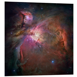 Tableau en PVC  Nébuleuse d'Orion (M42 and M43) - NASA