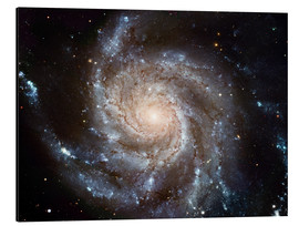 Tableau en aluminium  Galaxie spirale M101 - NASA