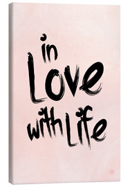 Tableau sur toile  In love with life - m.belle
