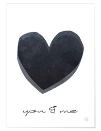 Poster  You & Me - m.belle