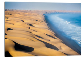 Tableau en aluminium  Namib Desert on the Atlantic - Roberto Moiola