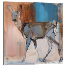 Tableau en aluminium  Doe a Deer - Mark Adlington