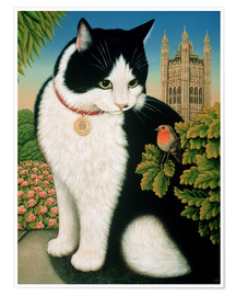 Poster  Humphrey, the cat - Frances Broomfield