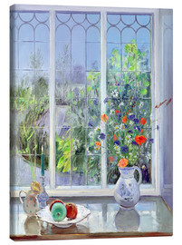 Tableau sur toile  Still life in the window - Timothy Easton