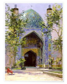 Poster  Chanbagh Madrasses, Isfahan - Bob Brown