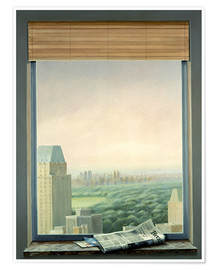Poster  New York Central Park - Lincoln Seligman