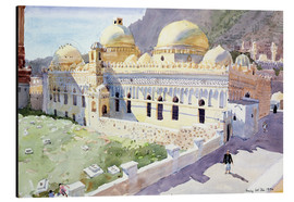 Tableau en aluminium  Mosque, Taiz, Yemen - Lucy Willis