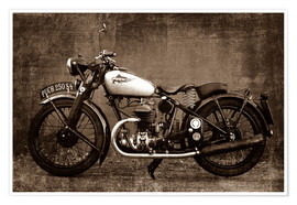 Poster Moto Puch S4