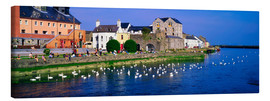 Tableau sur toile  Co Galway en Irlande - The Irish Image Collection