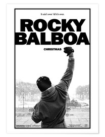 Poster  Rocky Balboa (anglais) - Entertainment Collection