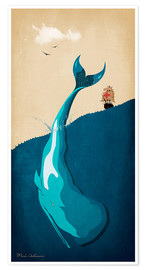 Poster Moby Dick I