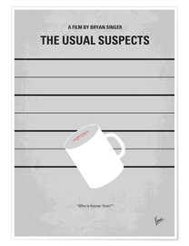 Poster  Usual Suspects (anglais) - chungkong