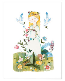 Poster  Spring Is Coming - Judith Loske