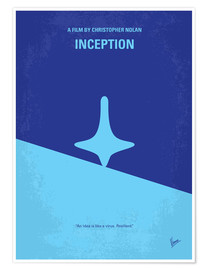 Poster  Inception (anglais) - chungkong