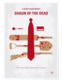 Poster Shaun of the Dead (anglais)