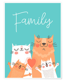 Poster  Family - Kidz Collection
