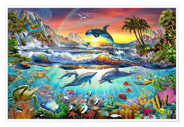 Poster  Paradise Cove - Adrian Chesterman