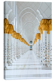 Tableau sur toile  Detail of Sheikh Zayed Mosque