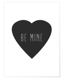Poster  Be Mine - sois mien - Finlay and Noa