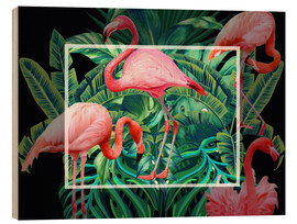 Tableau en bois  tropical mood - Mark Ashkenazi