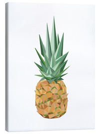 Tableau sur toile  Ananas polygone - Finlay and Noa