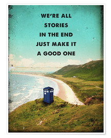 Poster Citation de Dr Who (anglais)