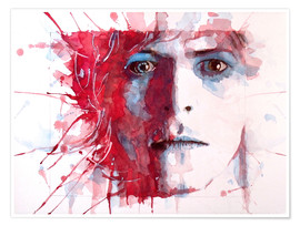 Poster  David Bowie - Paul Lovering