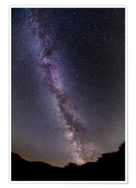 Poster  The summer Milky Way in southern Alberta, Canada. - Alan Dyer
