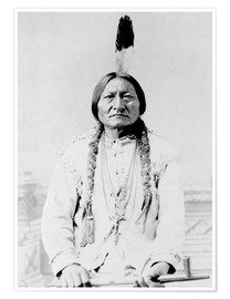 Poster  Chef Sitting Bull