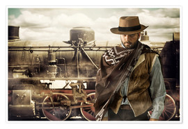 Poster  As de la gâchette du Far West