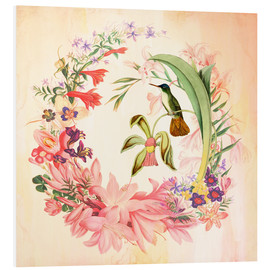 Tableau en PVC  Hummingbird I - Mandy Reinmuth