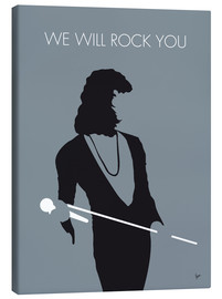 Tableau sur toile  Queen, We will rock you - chungkong