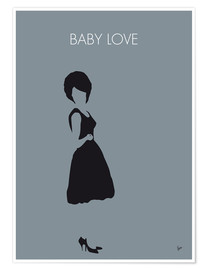 Poster Diana Ross, Baby Love