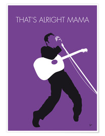 Poster Elvis, That's alright Mama