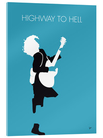 Tableau en verre acrylique  ACDC, Highway to hell - chungkong