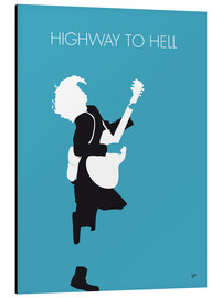 Tableau en aluminium  ACDC, Highway to hell - chungkong