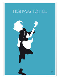 Poster ACDC, Highway to hell