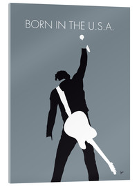 Tableau en verre acrylique  Bruce Springsteen, Born in the U.S.A. - chungkong