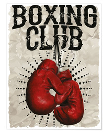Poster Boxing club