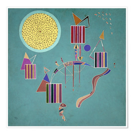 Poster  Message intime - Wassily Kandinsky