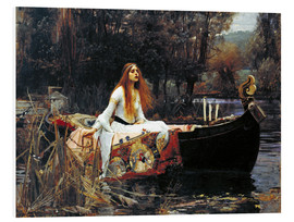 Tableau en PVC  La Dame de Shalott - John William Waterhouse