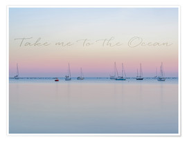 Poster Take me to the ocean